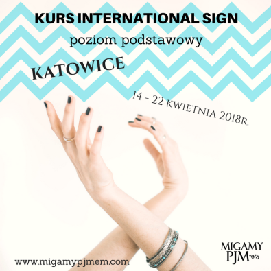 kurs international Sign